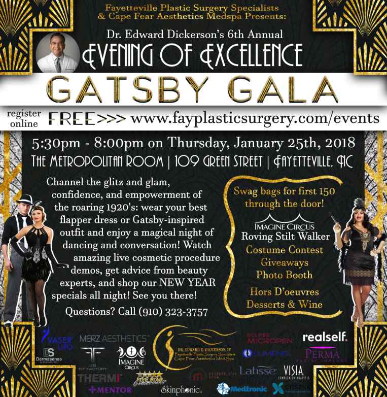 Evening of Excellence: Gatsby Gala Beauty Expo 2018