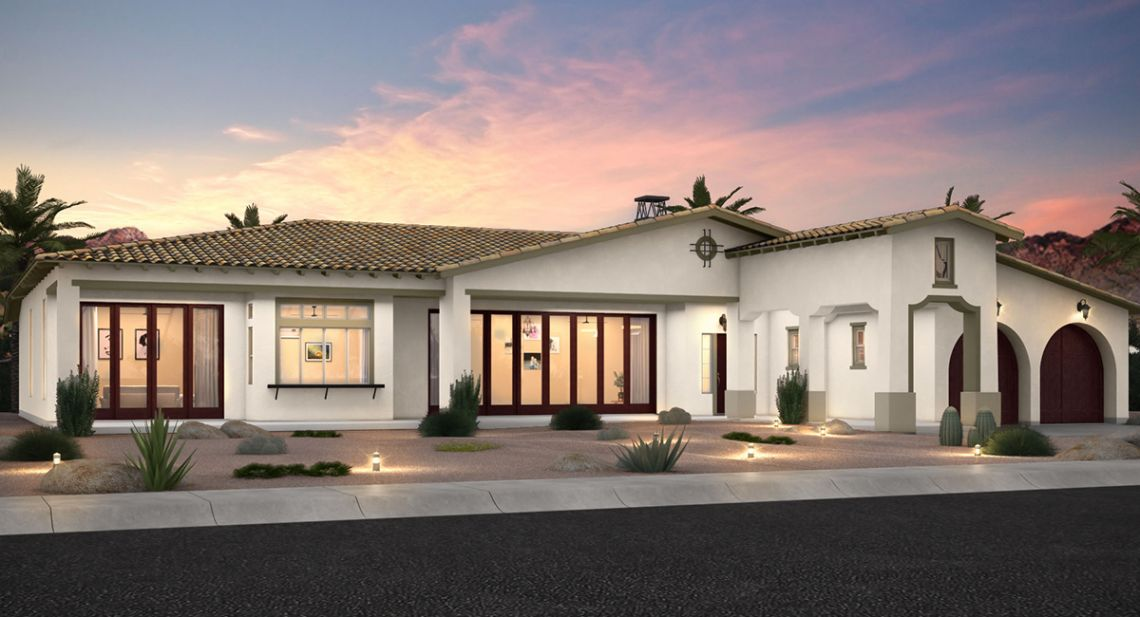 Lennar is now selling new homes from Encore and Prestige at Griffin Ranch.