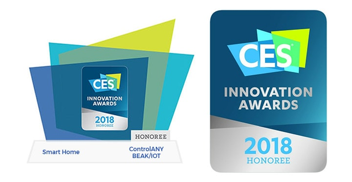 CES Innovation Award Honoree 2018
