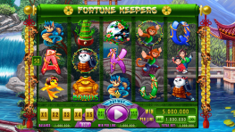 "Slot machine - ""Fortune Keepers"""