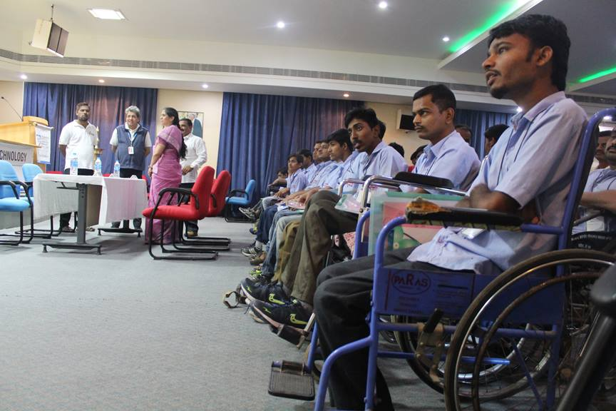 Personality Development Workshop for Specially-Abled Students