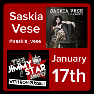 Saskia Vese On The Jimmy Star Show With Ron Russell