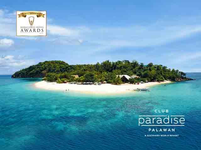 Club Paradise Palawan - World Luxury Hotel Awards