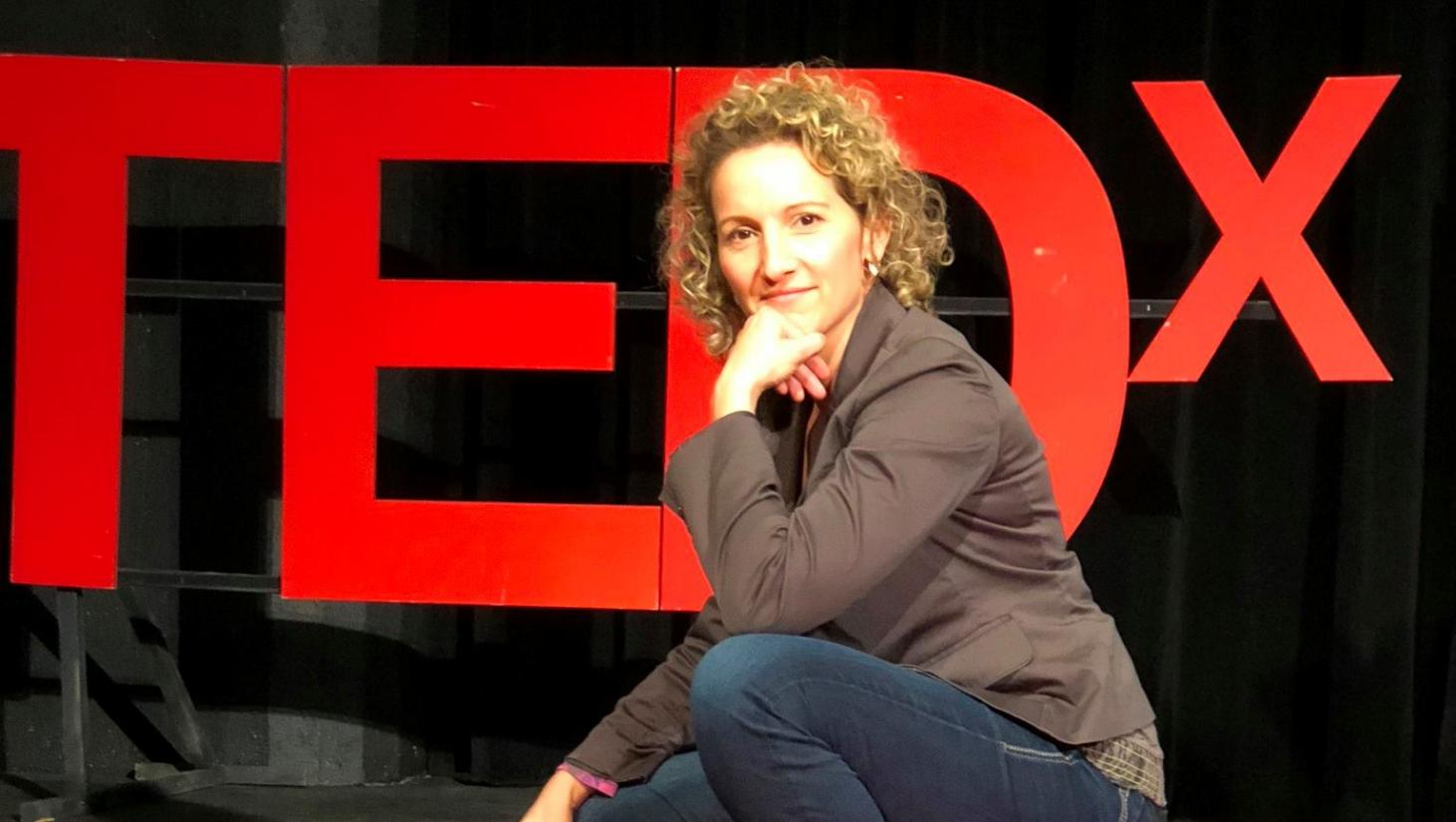 Adriana Girdler at TEDxHickory, Listen To The Whisper, CornerStone Dynamics