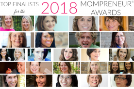 2018 MOMPRENEURS AWARDS FINALISTS  www.TheMompreneur.com