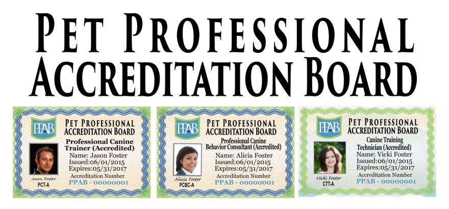 Three credentials