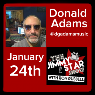 Donald Adams On The Jimmy Star Show With Ron Russell