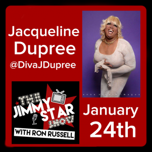 Jacqueline Dupree On The Jimmy Star Show With Ron Russell