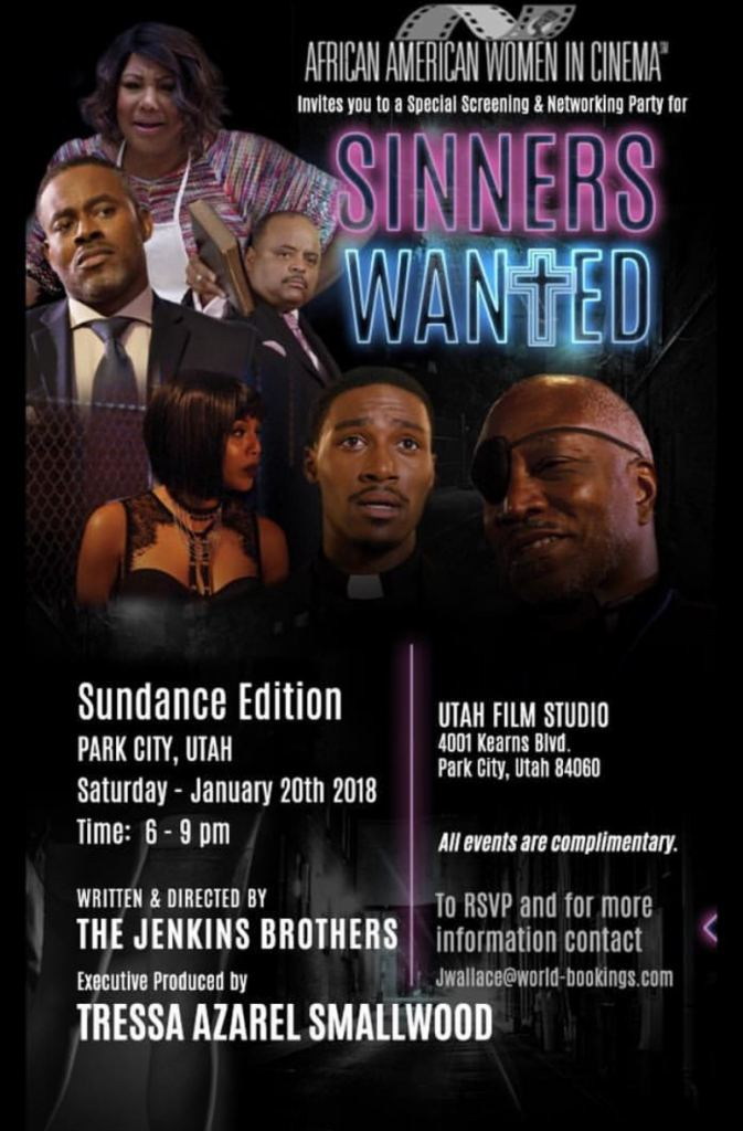 Sinners Wanted AAWIC Screening Announcement