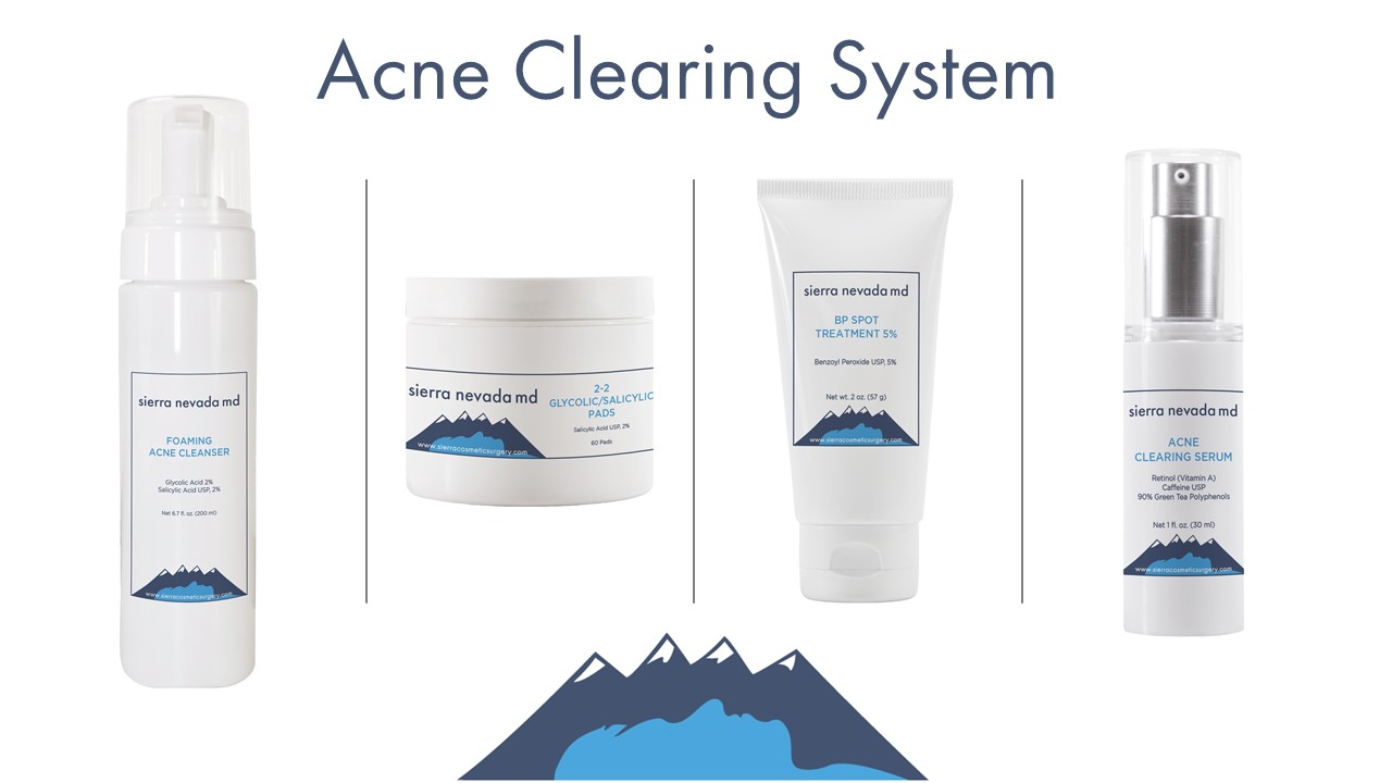 Acne clearing system
