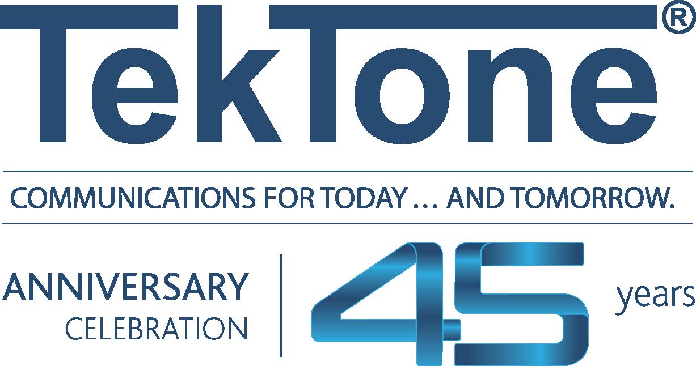 TekTone Celebrates 45 Years