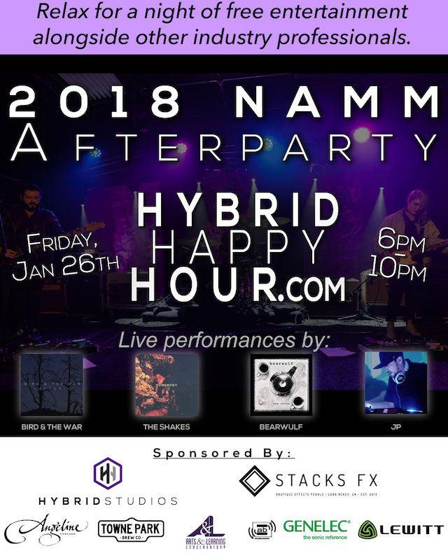 Hybrid Happy Hour 2018 Details