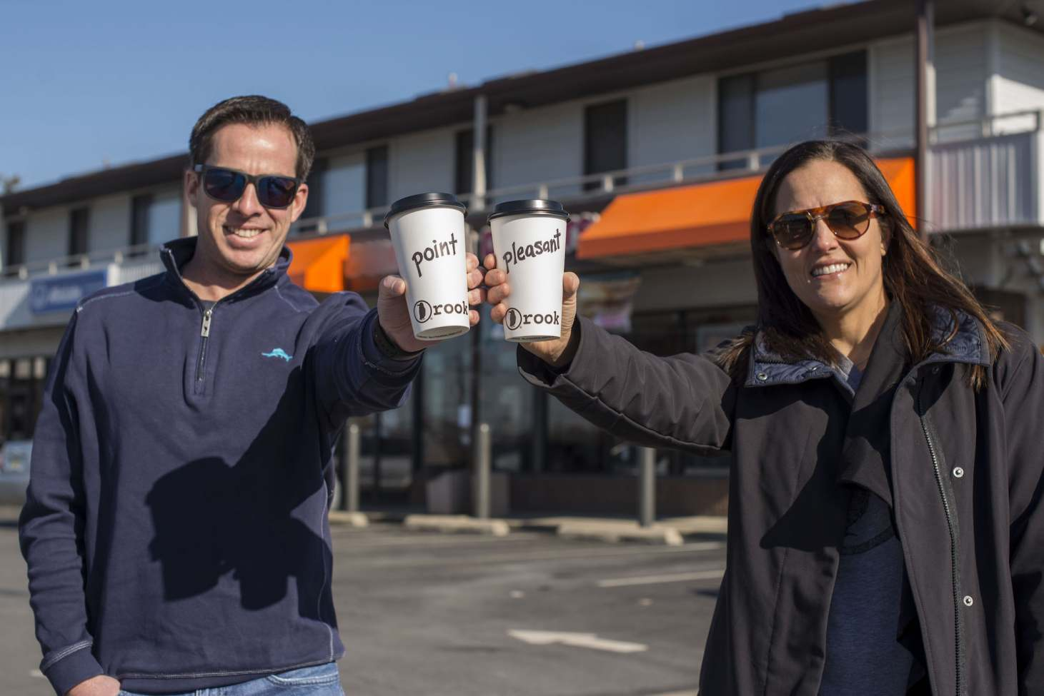 Rook Coffee Co-Founders/CEOs Shawn Kingsley & Holly Migliaccio.