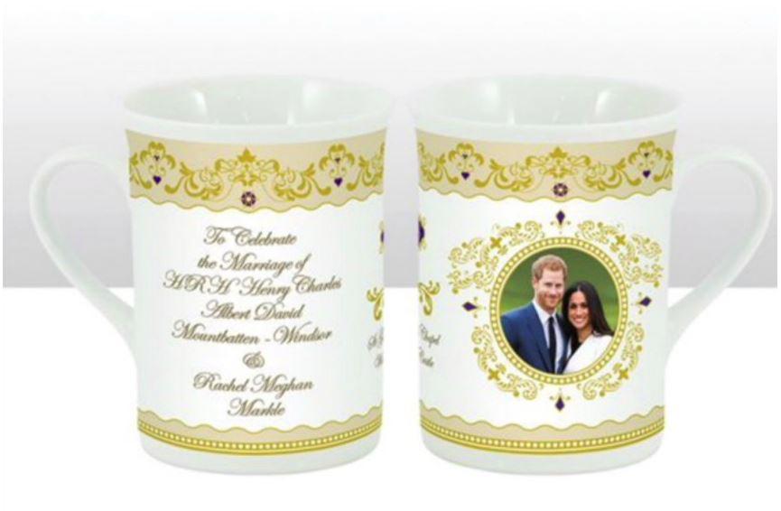 Prince Harry and Meghan Mug