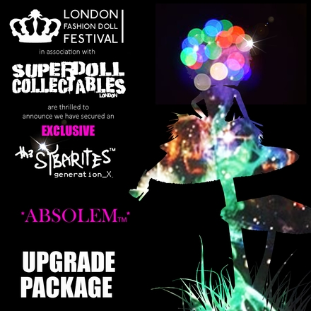 Superdoll Collectables are producing an exclusive Sybarite doll for the event