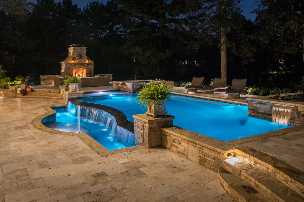 Georgia classic pool awarded best of houzz 2018 georgia for Best pool design 2015