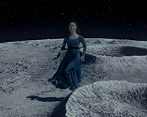 Ella dreams she must return from the moon to save her mother in Kepler's Dream