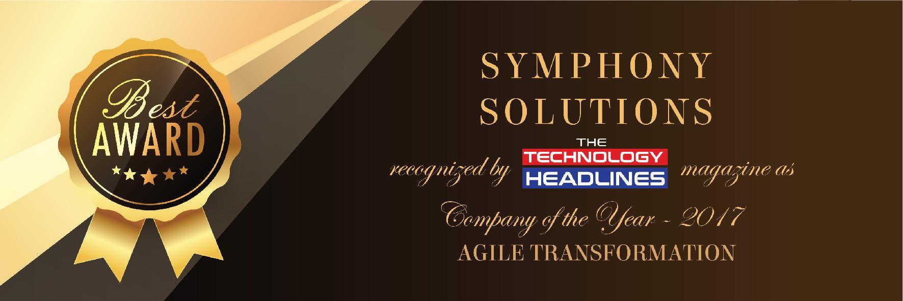 Symphony Solutions - Agile Award