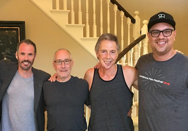 Bret Saxon, Dan Grodnik, James Houston Turner, and Jeff Bowler.