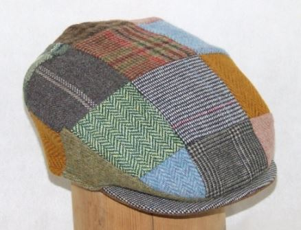 Irish Patchwork Donegal Cap