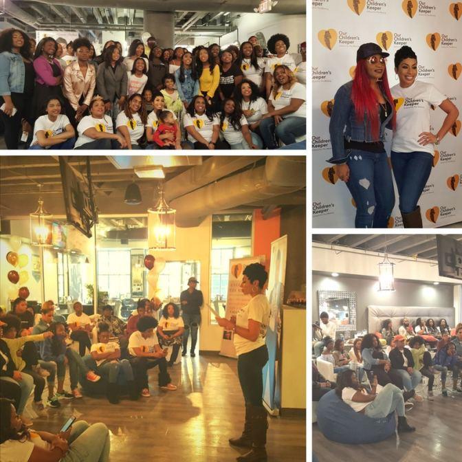 OCK Teen Summit in Atlanta featuring Lelee Lyons from SWV