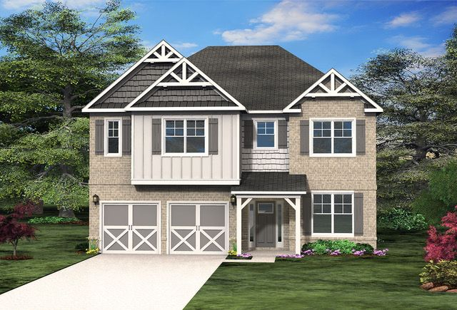 Atlanta Based Paran Homes Raises The Curtain On Heritage Pointe In