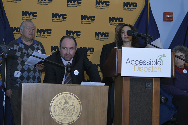 ALEX ELEGUDIN - Speaks out at the ACCESSIBLE DISPATCH Press Conference