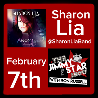 Sharon Lia To Guest On The Jimmy Star Show With Ron Russell