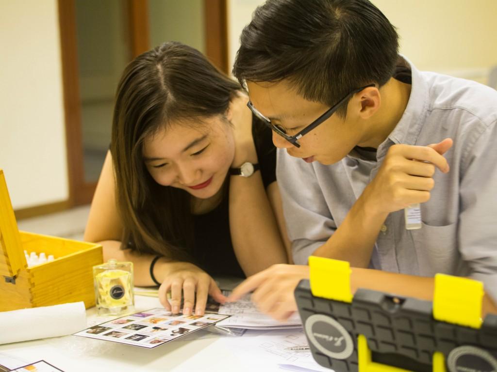 couple Perfume Workshop singapore unique weekend a
