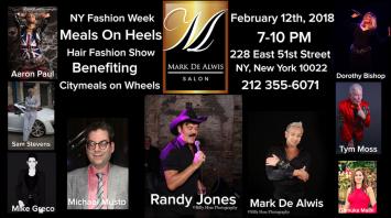 """Mark De Alwis Presents """"Meals On Heels"""""""