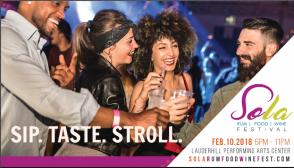SoLa Rum, Food & Wine Festival Feb. 10th, 2018 in Lauderhill, Florida
