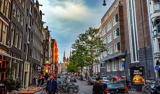 Amsterdam, The Netherlands. Photo credit: pixabay.com