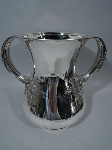 tiffany antique sterling silver trophy cup