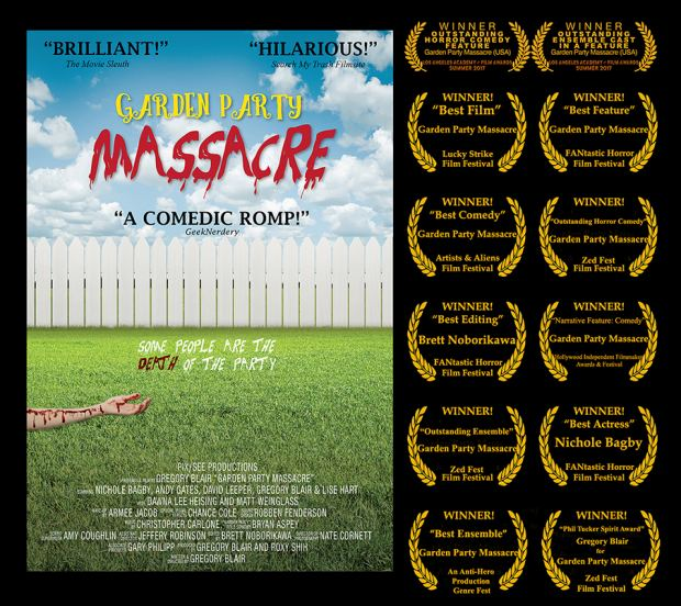 """Garden Party Massacre"" Poster and Awards"