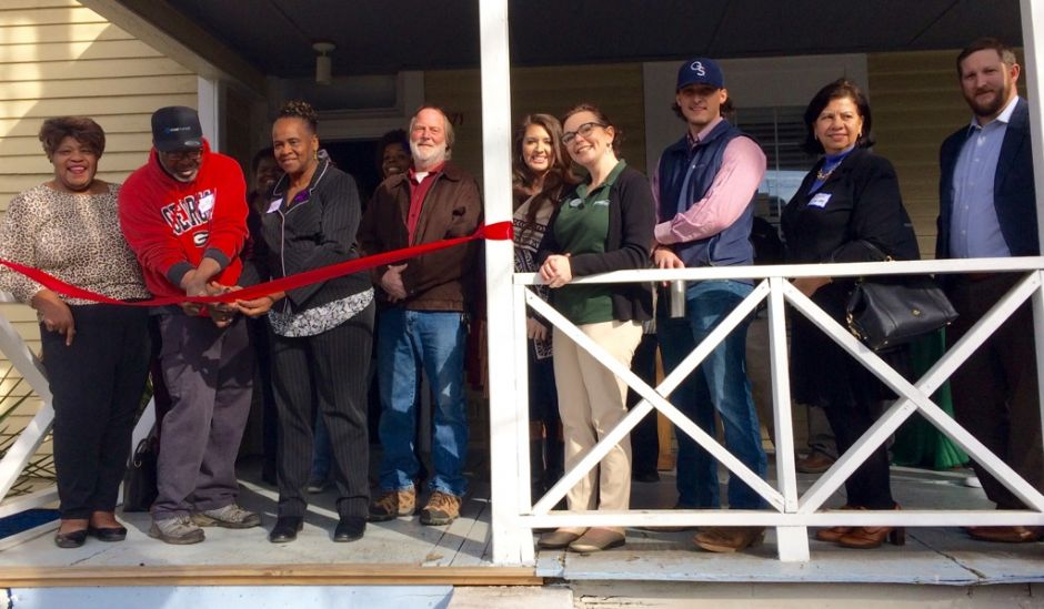Ribbon Cutting at Dill Avenue on January 26, 2018.