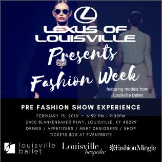 Lexus of Louisville Fashion Week Pre-Party