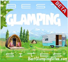best glamping sites logo press