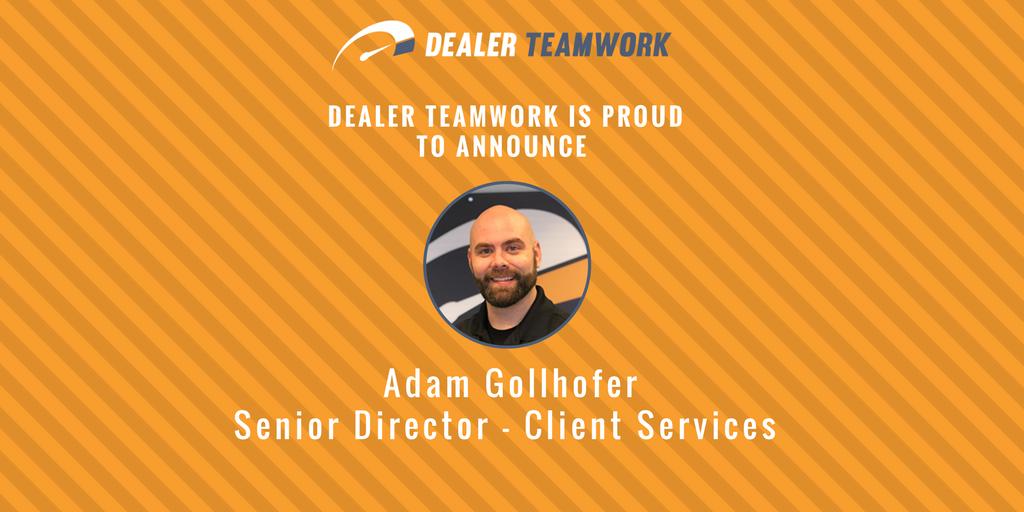 Adam Gollhofer - Sr. Director - Client Services
