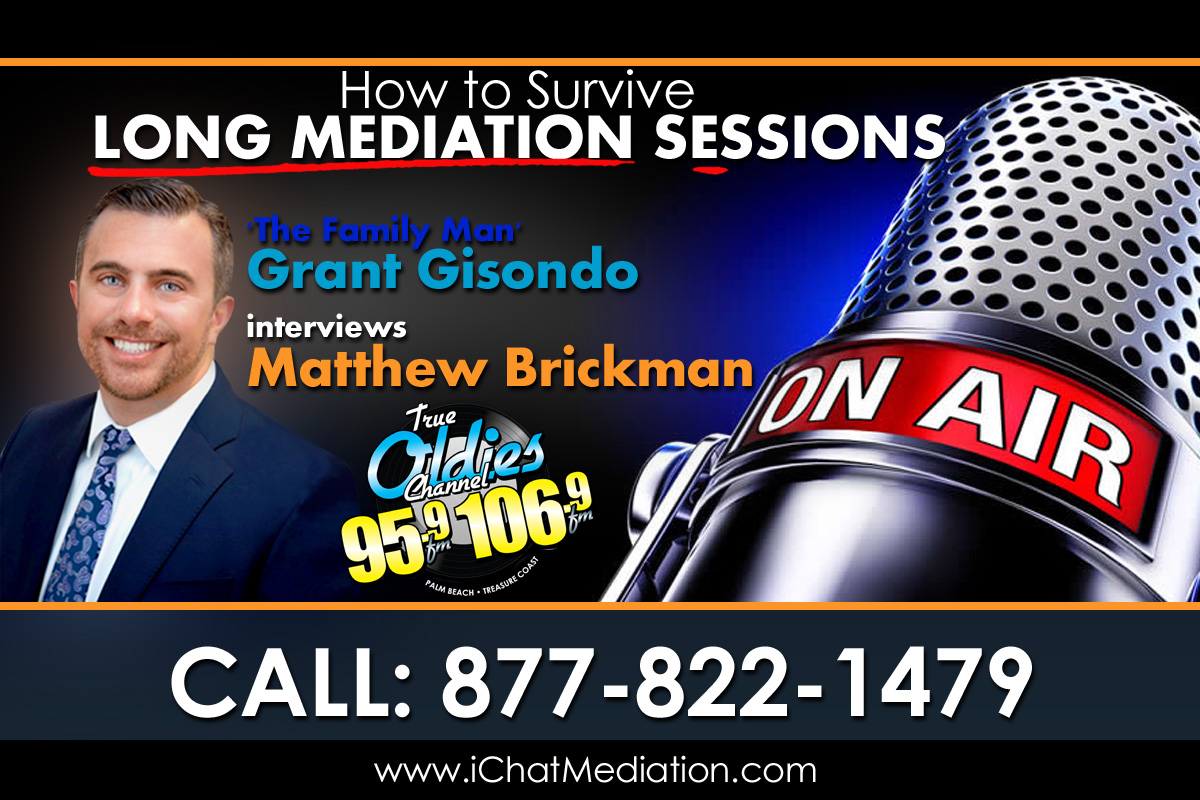 How to Survive Epic Long Mediation Sessions