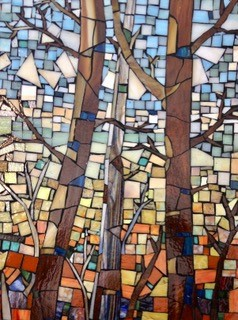 Trees by Three, April 23 - May 20th at the Hillsborough Gallery of Arts