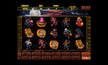 """Graphic Art for the slot machine """"Freaky Fortune"""""""