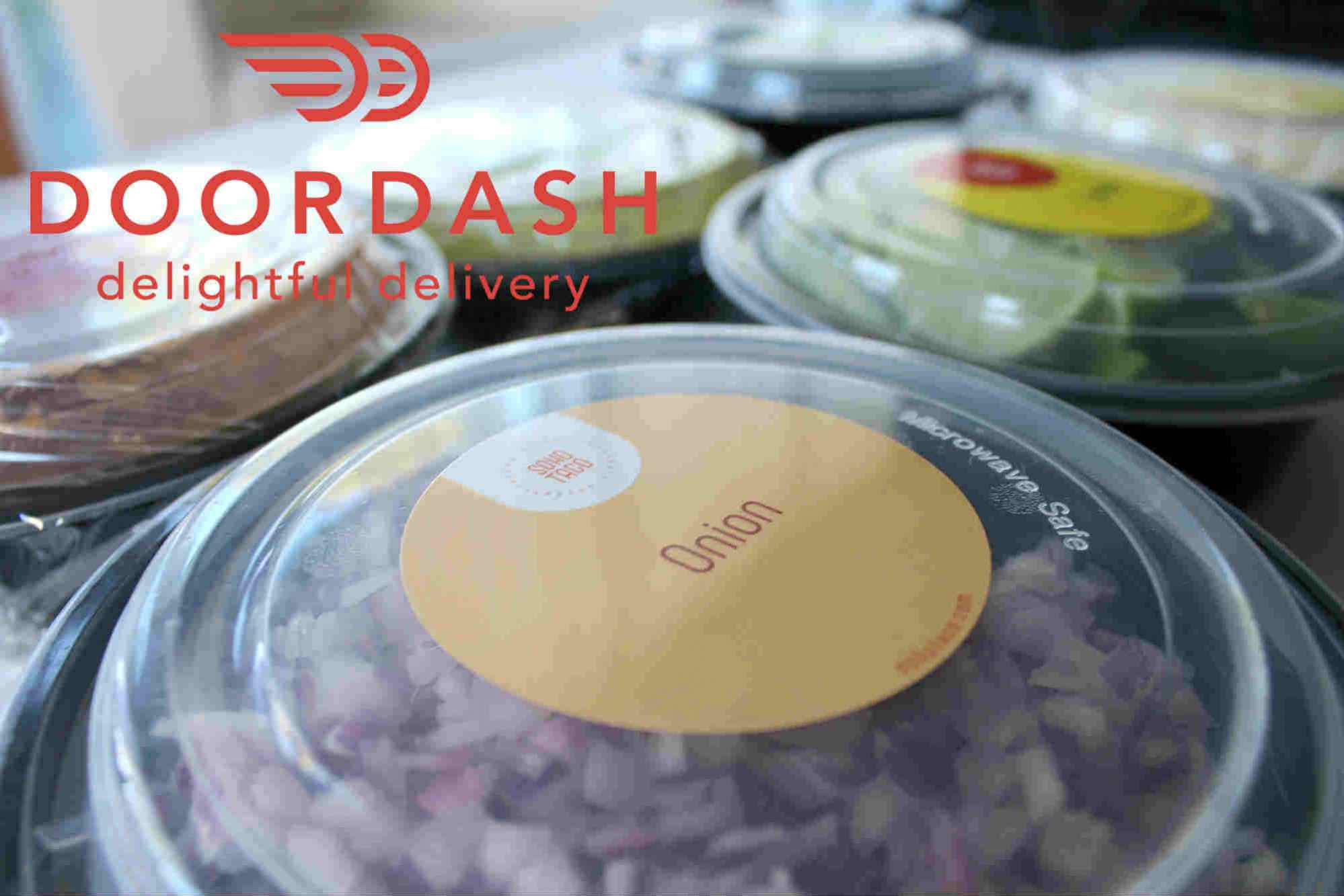 SOHO TACO catering packages now delivered by Doordash