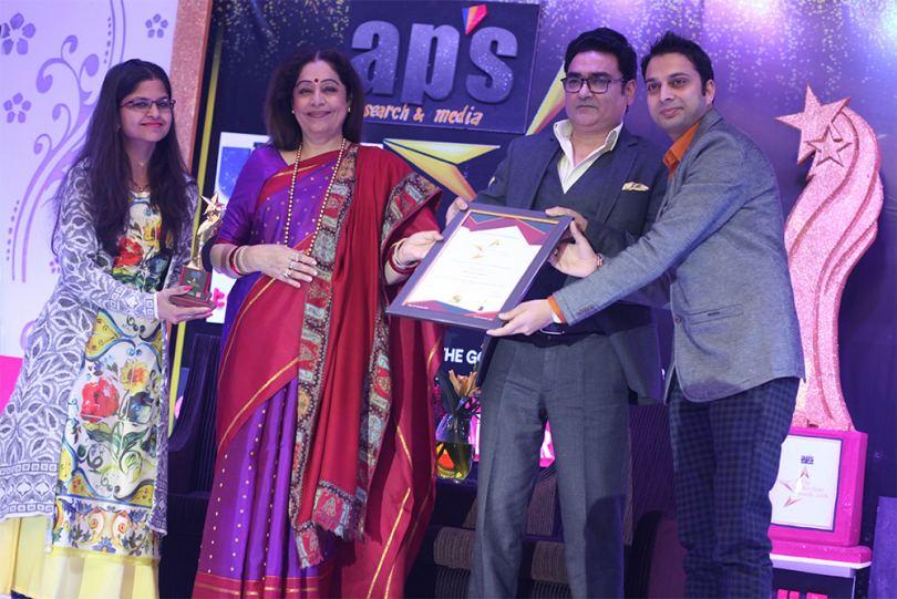Award By Kirron Kher
