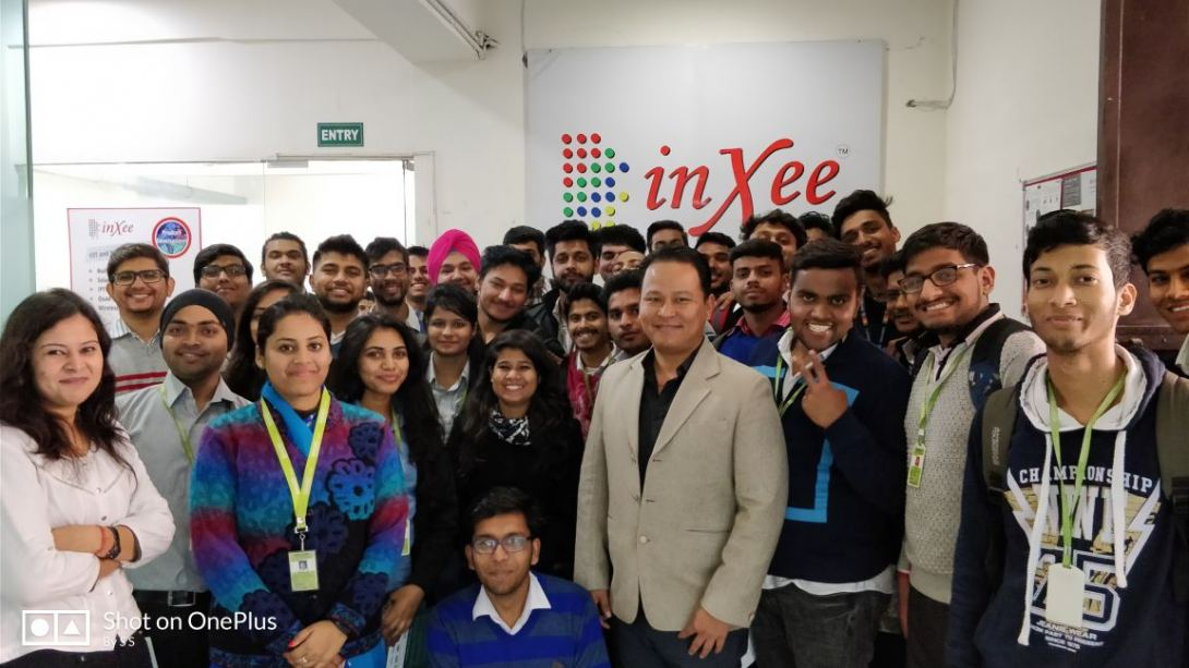 Industrial Visit To Inxee From DCE, Gurgaon