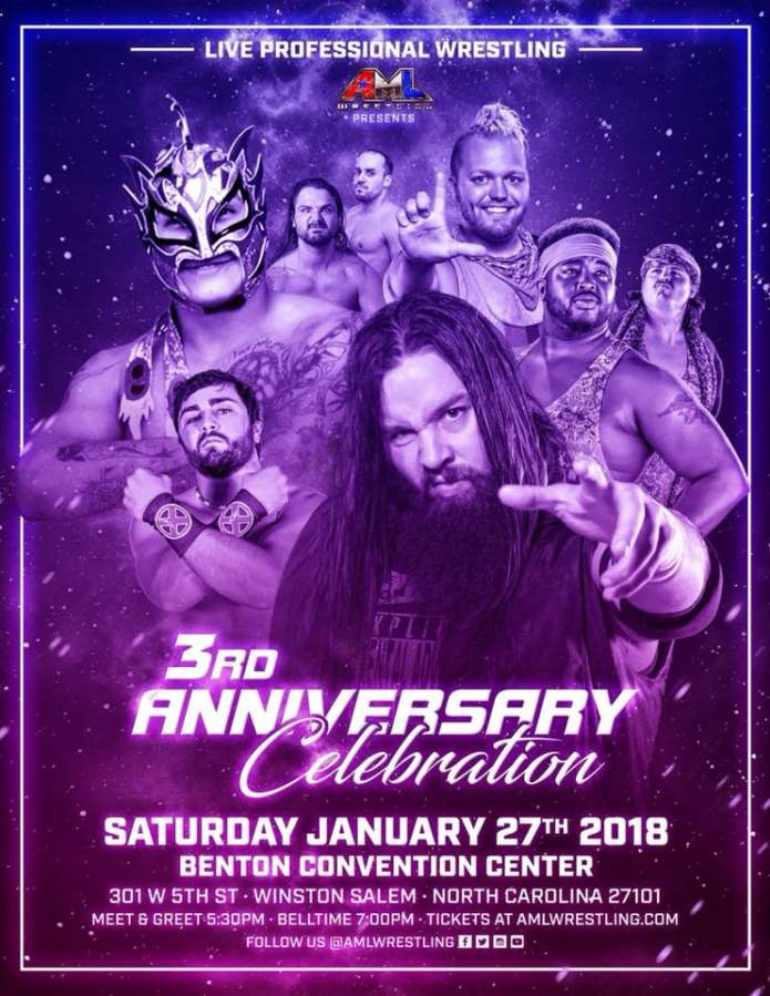 AML Wrestling January 2018