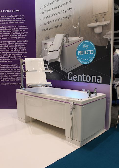 Gainsborough Specialist Bathing's ultra-efficient Gentona bath