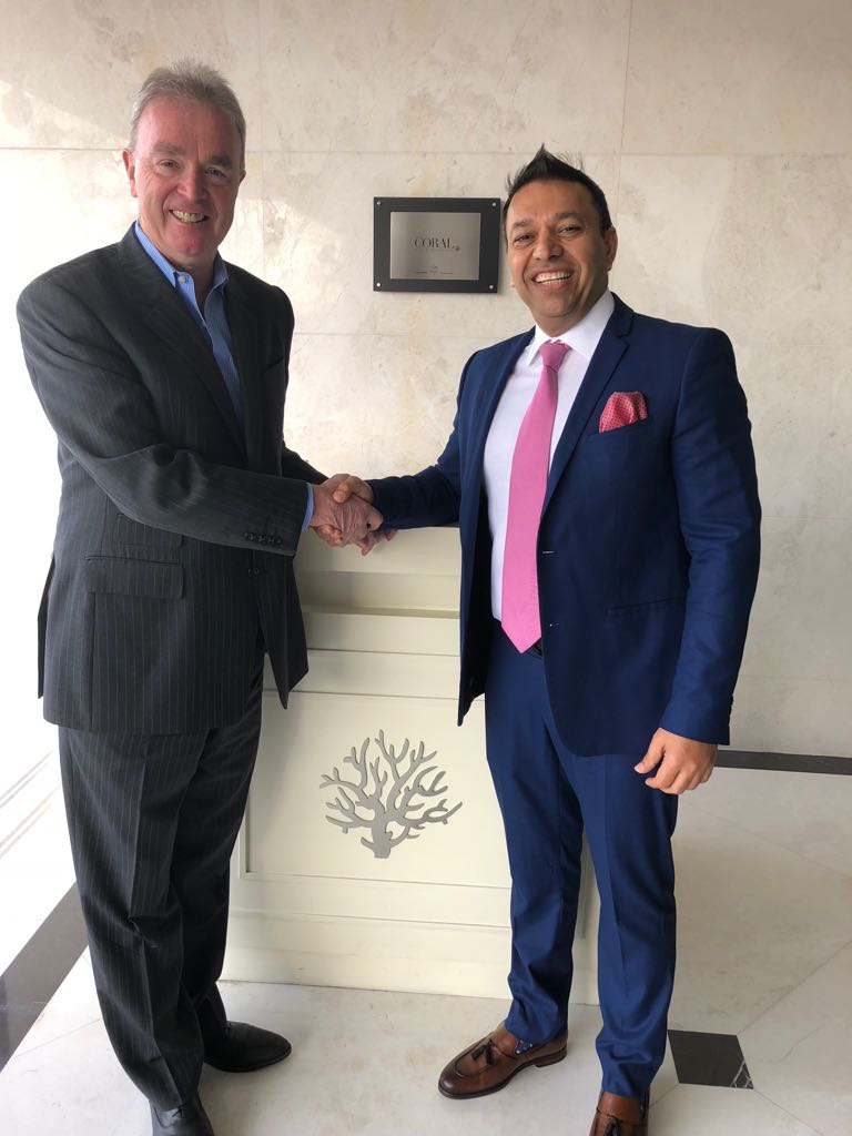Mr. Ferghal Purcell, COO of HMH & Shahzad Butt, GM