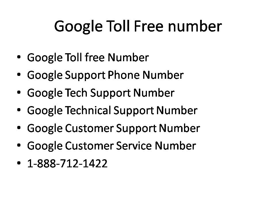 google play toll free number
