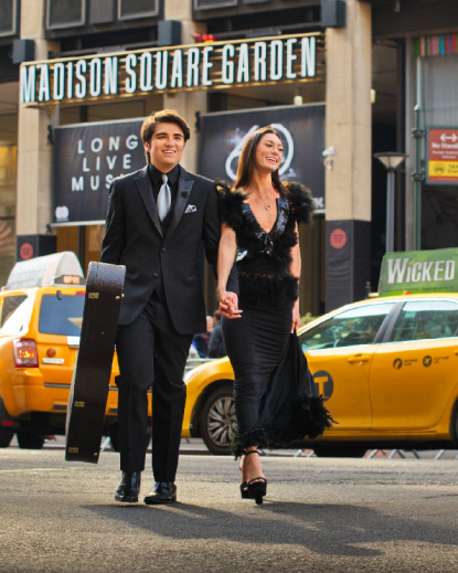 Clayton Mann & Katie Bell : Madison Square Garden, NYC  : Photo by #Udor