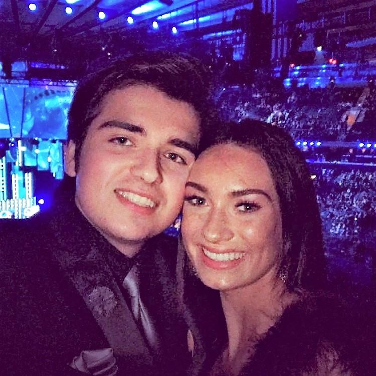 Clayton Mann & Katie Belle : 60th Grammy Awards